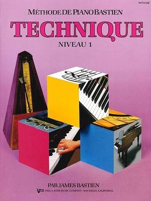 Méthode de Piano Bastien Technique Niveau 1  James Bastien   Klavier Kjos-Bastien Piano Method / Bastien James / Kjos Music Company