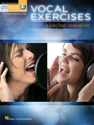 Vocal Exercises for Building Strength Endurance and Facility – Pro Vocal Mixed Editions    Melodyline Lyrics and Chords Pro Vocal /  / Hal Leonard