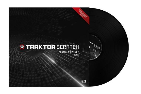 Native Instruments Traktor Scratch Control Vinyl Black MKII