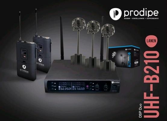 Prodipe UHFAL21DUOPAK UHF DSP AL21 PACK DUO PRODIPE AVEC MICRO SRIE 21 AL21