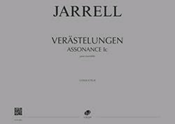 Verästelungen (Assonance Ic)  Michael Jarrell   Ensemble / Jarrell Michael / Henry Lemoine