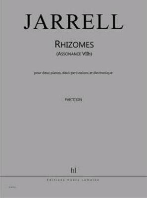 Assonance VIIb (Rhizomes)  Michael Jarrell   2 Pianos 2 Percussions and Electronics / Jarrell Michael / Henry Lemoine