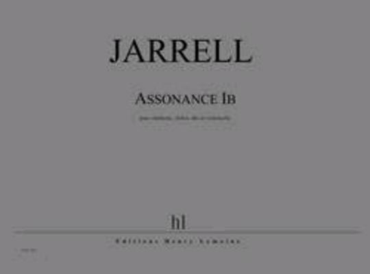 Assonance Ib  Michael Jarrell   Clarinet Violin Viola and Cello / Jarrell Michael / Henry Lemoine