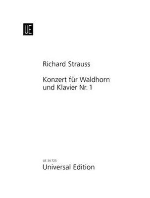 Concert 01 Es Opus 11 Hoorn/P. (R)  Richard Strauss   Horn und Klavier /  / Universal Edition