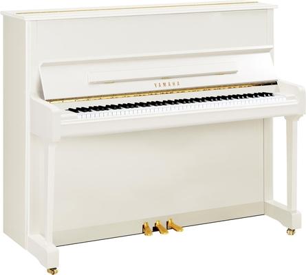 Yamaha Pianos Acoustic P121 PWH Blanc poli-brillant 121 cm