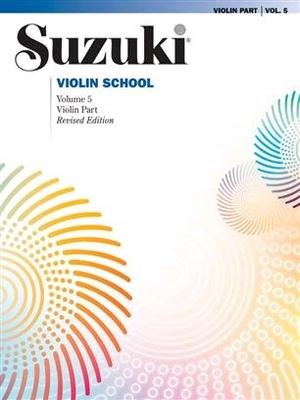 Suzuki Violin School vol. 5 (Revised) Violin Suzuki Method International / Shinichi Suzuki / Alfred Publishing