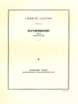 Symphonie -Ou Symphonie N01 Laszlo Lajtha  Orchestra / Laszlo Lajtha / Leduc