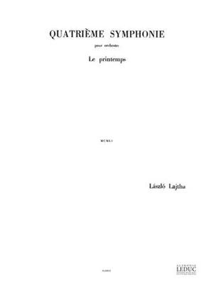 Symphonie N04 Op52 Laszlo Lajtha  Orchestra / Laszlo Lajtha / Leduc