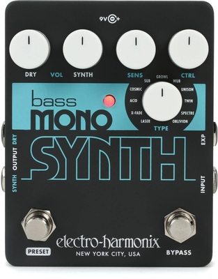 Electro-Harmonix BASS MONO SYNTH Bass Monophonic Synthesizer 9.6DC-200 PSU included