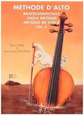 Méthode d'alto Vol. 2 / Garlej Bruno / Gonzales Jean-François / Henry Lemoine