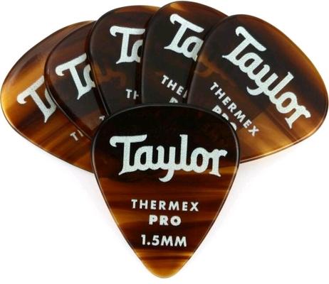 Taylor Premium Thermex Pro Picks Shell 1.50 MM 6 pack