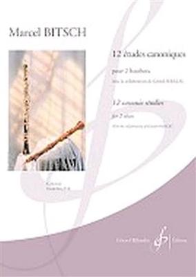 12 Etudes Canoniques / Marcel Bitsch / Billaudot