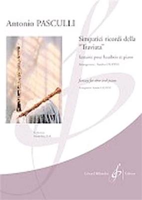 Simpatici Ricordi Della Traviata / Antonio Pasculli / Billaudot