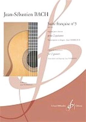 Suite Francaise No. 3BWV 814 / Johann Sebastian Bach / Billaudot