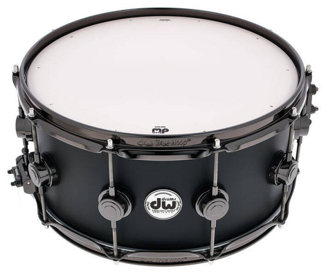 DW Collector Snare 14 x 6.5 Satin Black