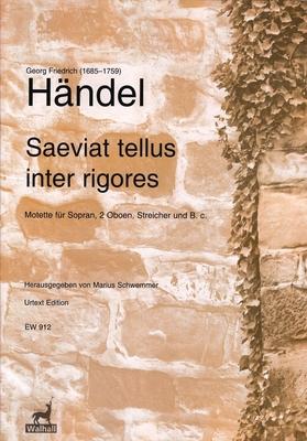 Saeviat Tellus Inter Rigores HWV 240 / Georg Friedrich Händel / Edition Walhall