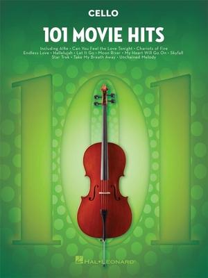 101 Movie Hits for Cello     Hal Leonard Cello Buch 101 Songs TV, Film, Musical und Show /  / Hal Leonard