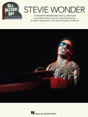 Stevie Wonder – All Jazzed Up  Stevie Wonder   Hal Leonard Klavier Buch All Jazzed Up / Stevie Wonder / Hal Leonard