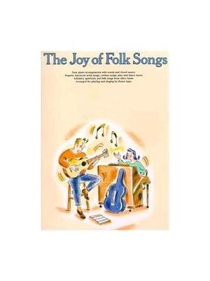 The Joy Of Folk Songs     Yorktown Music Press Piano, Vocal and Guitar Buch Joy Of Folk /  / Yorktown Music Press