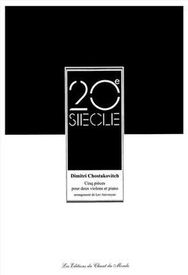 Cinq Pieces / Dimitri Shostakovich / Hal Leonard