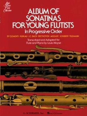 Album of Sonatinas for Young Flutists In Progressive Order  Louis Moyse /  / G. Schirmer