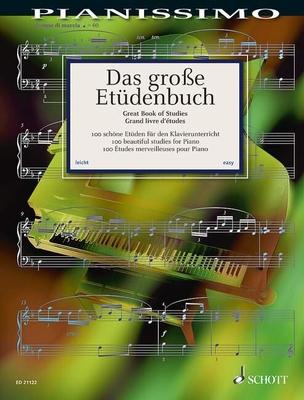 Grosse Etudenbuch (100 Etudes)    Hans-Günter Heumann / Hans-Günter Heumann / Schott