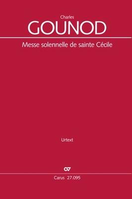 Messe Solennelle De Sainte Cecile / Charles Gounod Frank Hondgen / Carus