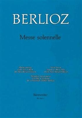 Messe Solennelle  Hector Berlioz   Bärenreiter-Verlag Vocal and Piano Buch Bärenreiter Urtext / Hector Berlioz / Bärenreiter