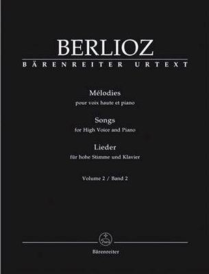 Mélodies vol. 2Lieder 2 Hoog / Hector Berlioz / Bärenreiter