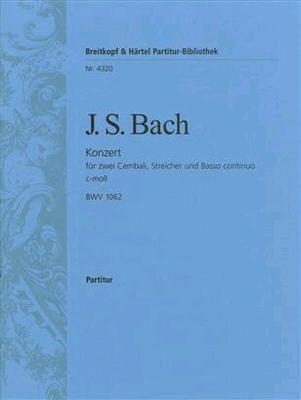 Cembalokonzert c-moll BWV 1062 / Johann Sebastian Bach / Breitkopf
