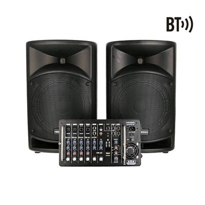 Definitive Audio BACKSTAGE 500 Système amplifié avec mixer 500W RMS