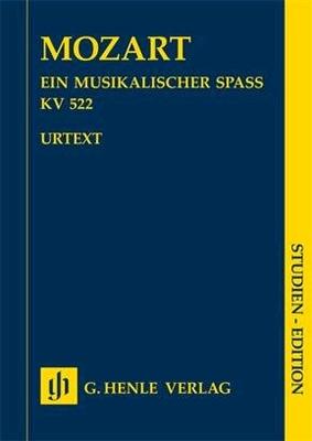 A Musical Joke K. 522Ein musikalischer Spass / Wolfgang Amadeus Mozart Felix Loy / Henle