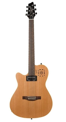 Godin A6 ULTRA Natural SG LEFTHAND with Bag