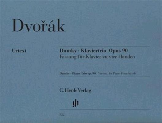 Dumky – Piano Trio Op.90 Opus 90 Antonn Dvok   G. Henle Verlag Piano, 4 Hands Buch Henle Urtext Editions / Antonn Dvok / Henle