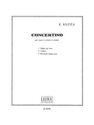 Concertino Op.49 / Eugène Bozza / Leduc