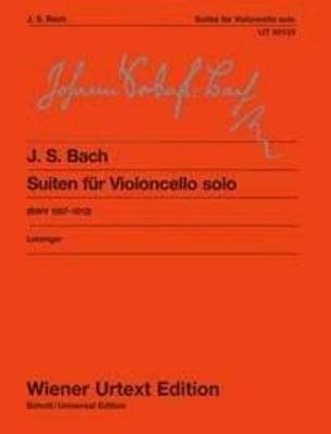 Suites (6) Bwv 1007/12 (Leisinger) Wiener Urtext Edition / Johann Sebastian Bach / Wiener Urtext