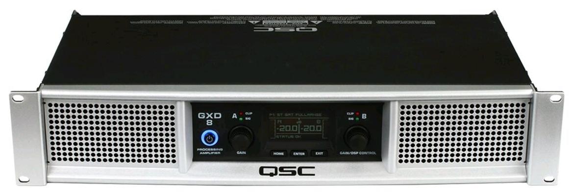 QSC GXD8 2x1200W DSP Amplificateur