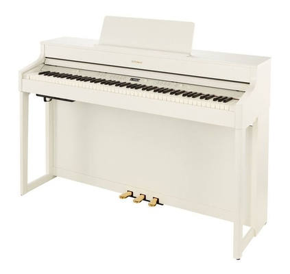 Roland HP702-WH Concert Class Piano White + Piano Stand KSH704/2WH