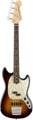 Fender American Performer Series Mustang Bass Rosewood Fingerboard 3-Color Sunburst