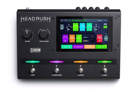 HeadRush Gigboard Guitar Amp And FX Modelling Processor