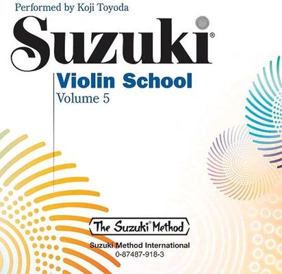 Suzuki Violin School vol. 5 le CD /  / Suzuki