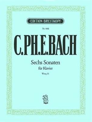 Sammlungen(6) Sonaten Fantasien     Breitkopf und Härtel  Buch / Carl Philip Emmanuel Bach / Breitkopf