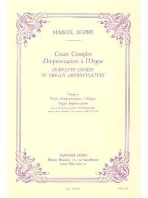 Complete Course in Organ Improvisation Volume 2 / Marcel Dupré / Leduc