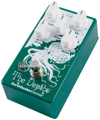 EarthQuaker Devices EarthQuaker Devices The Depths V2 – Analog Optical Vibe Machine