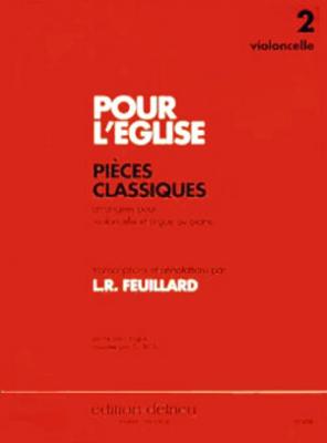 Pour l'Eglise Vol.2Violoncelle et Piano / Louis R. Feuillard / Edition Delrieu