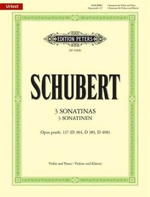 Sonatines(3) Op.137 / Franz Schubert / Peters