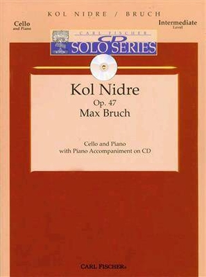 Kol Nidrei Op.47 Partition + CD / Max Bruch / Carl Fischer