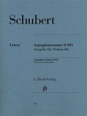 Sonata For Piano And Arpeggione In A Minor D 821Ausgabe für Violoncello / Franz Schubert / Henle