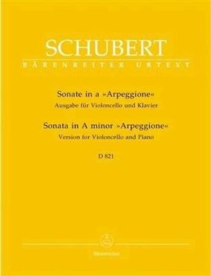Sonate A Arpeggione / Franz Schubert / Bärenreiter