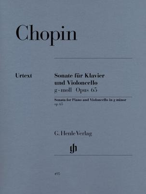 Cello Sonata In G Minor Op.65  Frédéric Chopin  Cello und Klavier Buch  HN 495 / Frédéric Chopin / Henle